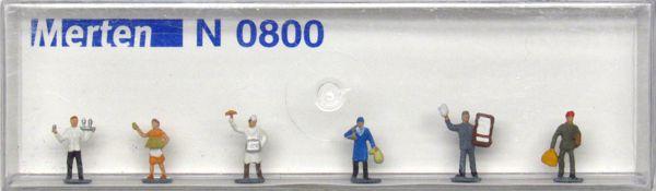 N Scale Figures Database: Merten Packaging
